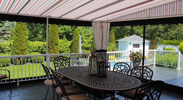 Stationary Terrace Awnings - 2
