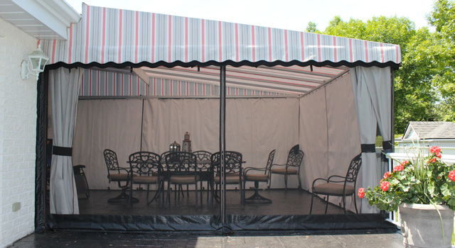 Stationary Terrace Awnings - 7
