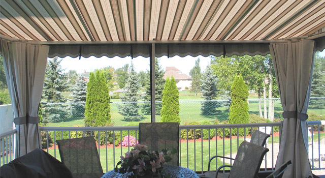 Stationary Terrace Awnings - 9