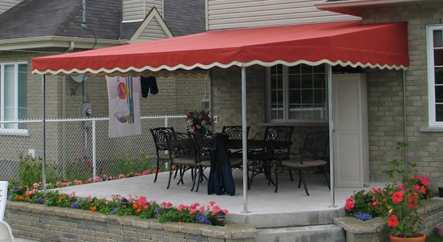 Stationary Terrace Awnings - 4