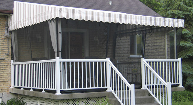 Stationary Terrace Awnings - 6
