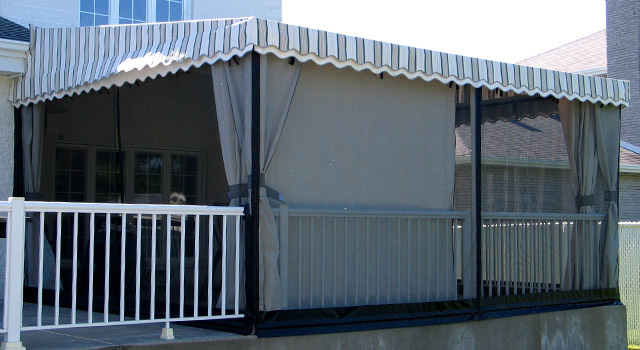 Stationary Terrace Awnings - 8