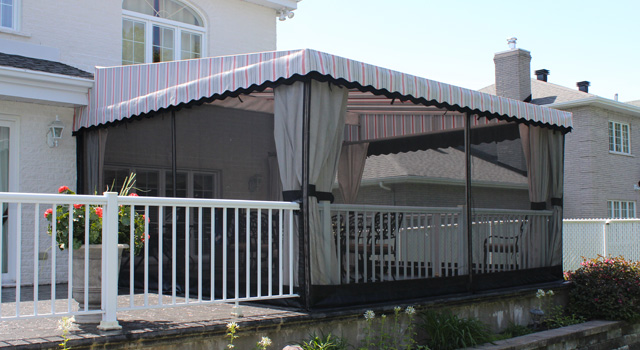 Stationary Terrace Awnings - 1